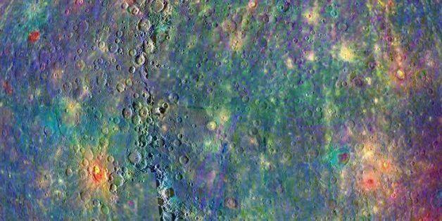 La NASA publie des photos inédites de la planète Mercure prises par la sonde