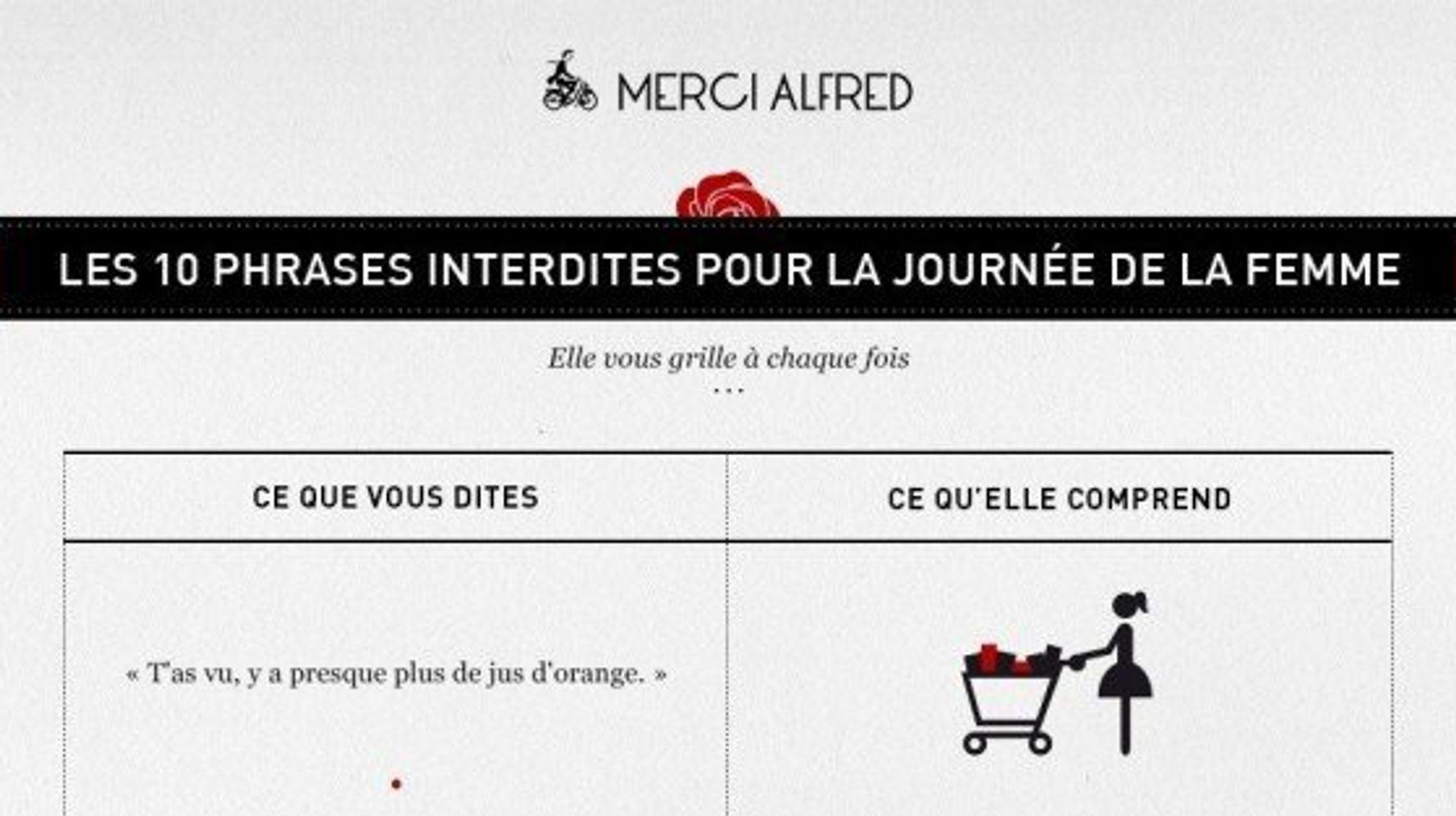 Journee Internationale Des Droits Des Femmes Les 10 Phrases Interdites Pour La Journee De La Femme Le Huffington Post Life