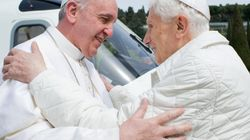 François et Benoît XVI déjeunent