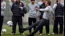 En Chine, Beckham essaye de tirer un coup