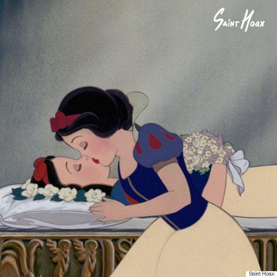 PHOTOS. Les princesses Disney se sauvent elles-mêmes (par l'artiste Saint