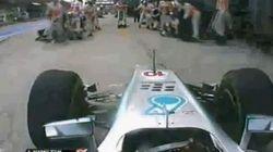 En plein Grand Prix, Lewis Hamilton s'arrête à la mauvaise