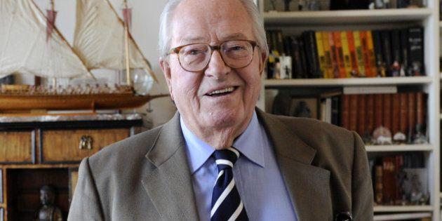 Jean-Marie Le Pen sera candidat aux élections européennes de
