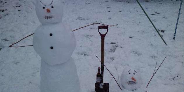 PHOTOS. Les meilleurs bonshommes de neige insolites partagés sur le