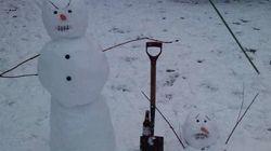 Les bonshommes de neige les plus créatifs du