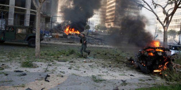 Un violent attentat secoue Beyrouth, un conseiller de l'ex-Premier ministre tué dans