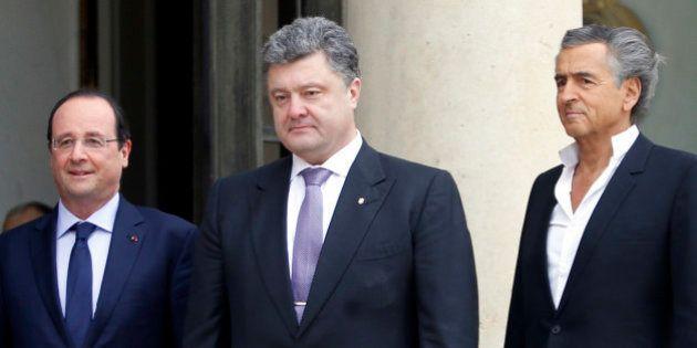 Ukraine: qui est Petro Porochenko, reçu avec Vitali Klitschko par François Hollande, et favori des sondages...
