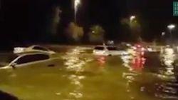 Les impressionnantes images de la tempête à Abou