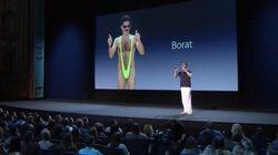 Quand Borat parodie les présentations