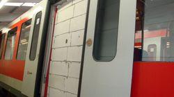 En Allemagne, des inconnus emmurent la porte d'un