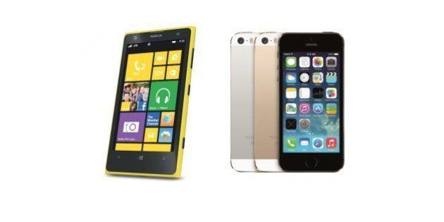 Nokia Lumia 1020 vs iPhone 5s: le test