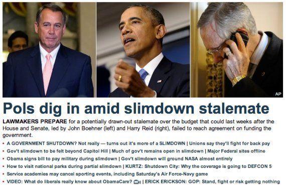 Shutdown: le site d'information Fox News voit le blocage budgétaire américain comme une cure