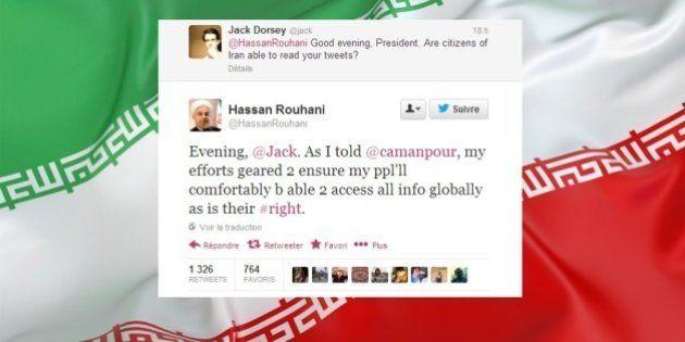 Twitter: Dorsey interpelle Rohani sur le blocage du réseau social en