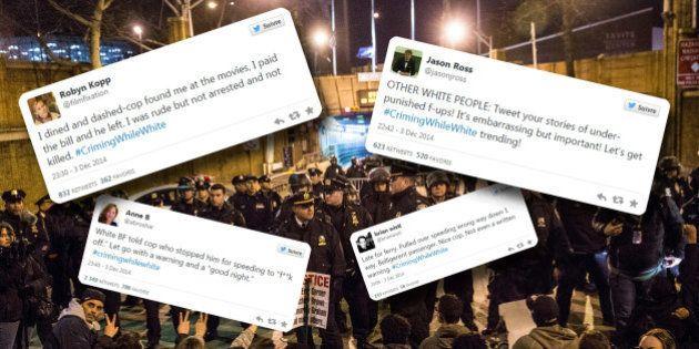 Mort d'Eric Garner : Avec #CrimingWhileWhite, les internautes blancs dénoncent les traitements de faveur...