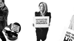Le Big Push: rejoignez Arianna et Bono pour lutter contre le Sida, la malaria et la