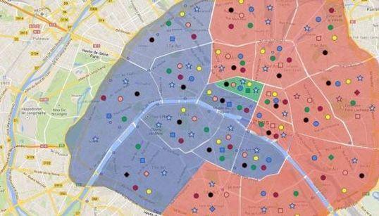 164 listes municipales à Paris, 27 dissidences à droite et au