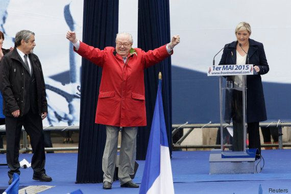 PHOTOS. Jean-Marie Le Pen vaut le