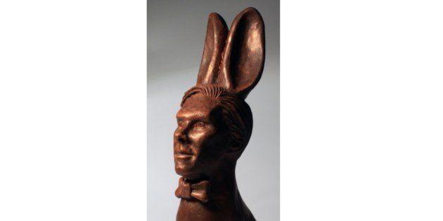 Ce lapin en chocolat qui représente Benedict Cumberbatch mérite le