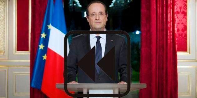 Les voeux de Hollande en 2012 ont-ils été exaucés en
