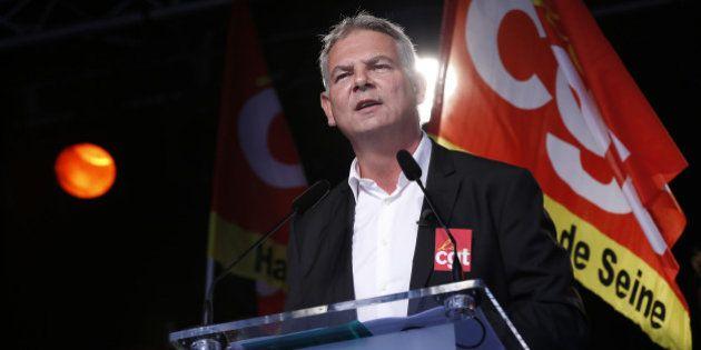 Thierry Lepaon : l'agenda de l'éventuel départ du patron de la CGT toujours en