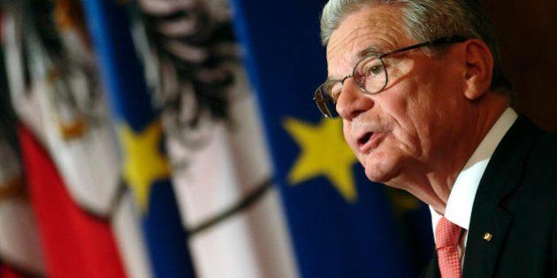 L'Allemagne doit-elle payer des réparations de guerre à la Grèce? Le président Joachim Gauck y est