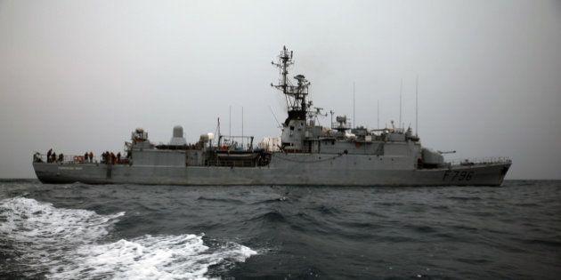 Un navire français sauve 217 migrants en