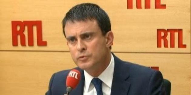 Quenelle: Valls n'exclut pas d'interdire un