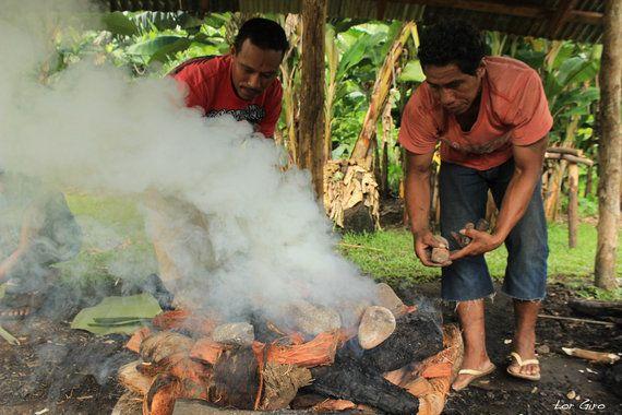 Samoa: manger et se faire