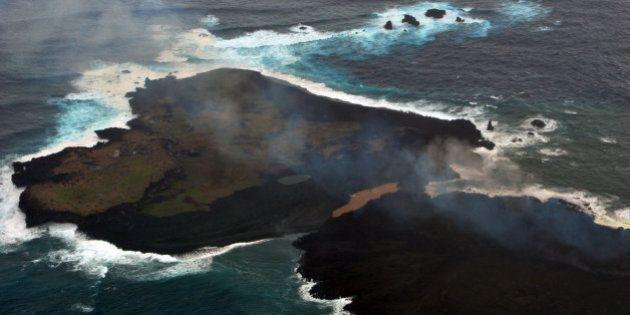 Japon: La nouvelle île ressemble à