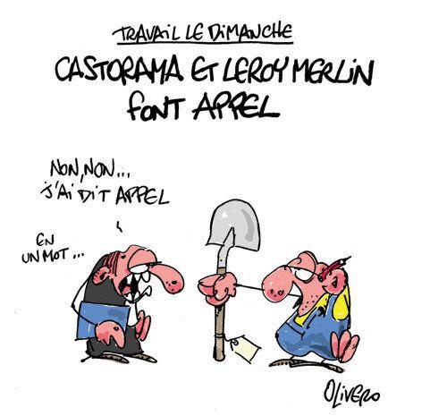 Castorama et Leroy Merlin font