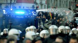 Heurts entre extrême droite et police à