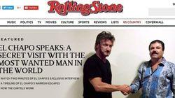 Sean Penn a interviewé