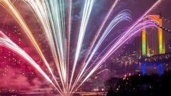 PHOTOS. Les fêtes du Nouvel An pour 2014 à travers le