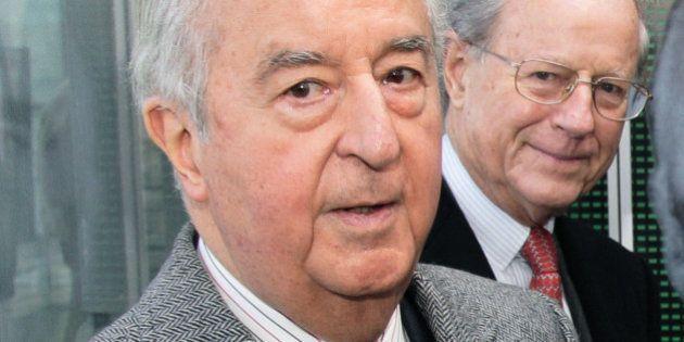 Financement de la campagne 1995 d'Edouard Balladur: son ex-trésorier René Galy-Dejean mis en