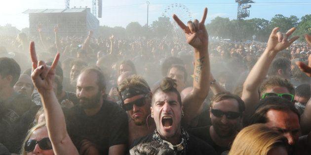 Hellfest: le site du festival de métal