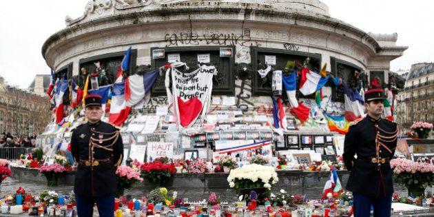 Hommage à République: d'un dimanche de janvier à
