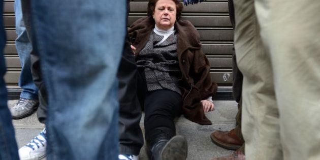 Christine Boutin s'amuse des détournements de la photo d'elle évanouie lors de la manif pour