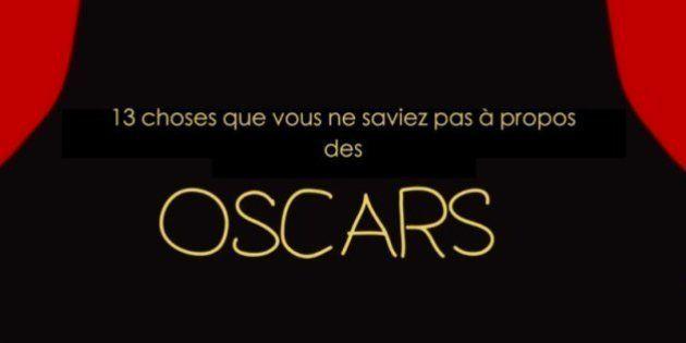 VIDÉO. Oscars 2015 : 13 choses que vous ne saviez sans doute pas sur leur
