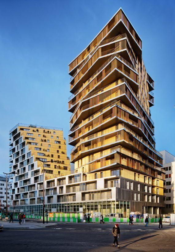 PHOTOS. Le plus haut immeuble d'habitation de Paris depuis les années