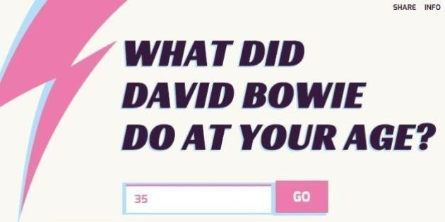 Que faisait David Bowie à votre