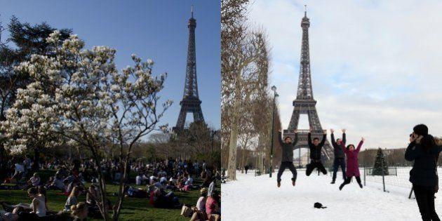 Records de température: il fait chaud à Paris, mais rappelez vous l'an
