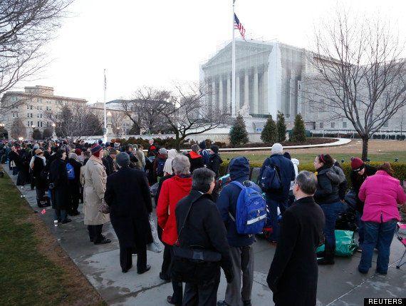 PHOTOS. États-Unis: débat historique sur le mariage gay à la Cour suprême, manifestations à