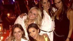 Eva Longoria rejoint les Spice Girls (pour les 40 ans de David