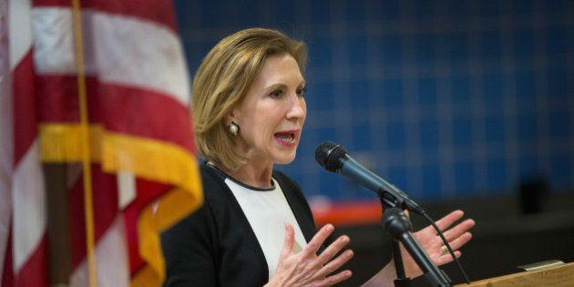 Carly Fiorina, l'ex-patronne de Hewlett-Packard, anti-Hillary et candidate aux primaires républicaines...