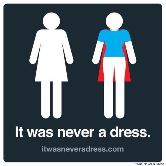 Si le logo des toilettes des femmes cachait en fait une
