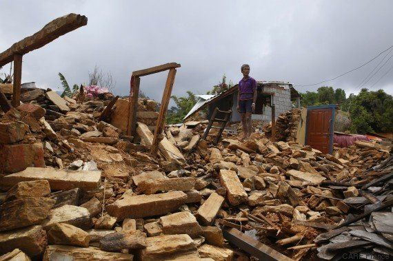Au Népal, témoignages d'habitants victimes du