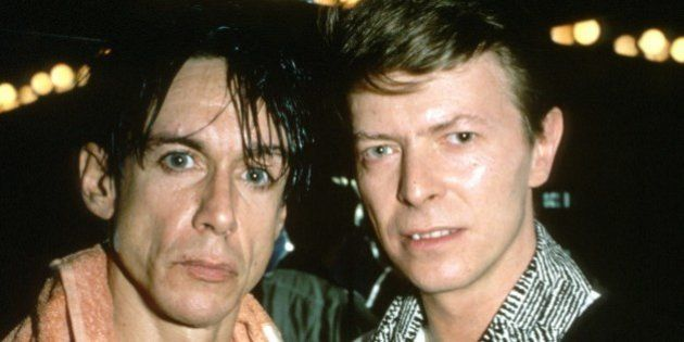Iggy Pop and David Bowie photographed in the early 1980's. © RTNBusacca /MediaPunch Credit all