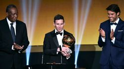 Messi remporte son 5e Ballon