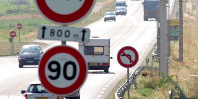 Limitation de vitesse à 80 km/h sur les routes: l'idée d'un rapport d'expert pour faire baisser la