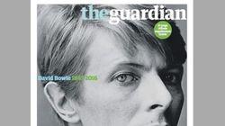 Le visage de David Bowie à la une des journaux du monde